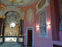 Prawa strona kaplicy - zbliżenie